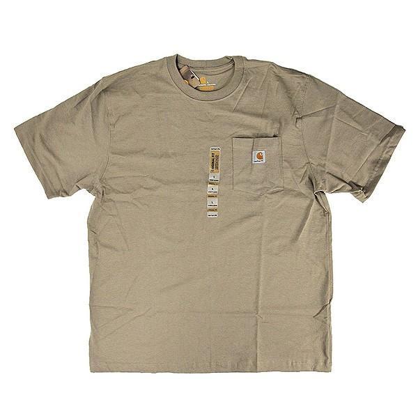 カーハート Carhartt K87 ワークウェア ポケット付きTシャツ 半袖 ミッドウェイト(メール便可) gb-int 10