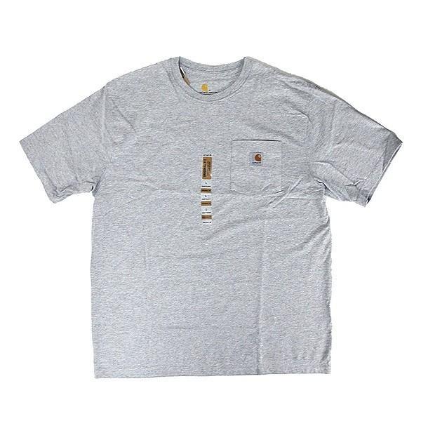 カーハート Carhartt K87 ワークウェア ポケット付きTシャツ 半袖 ミッドウェイト(メール便可) gb-int 11