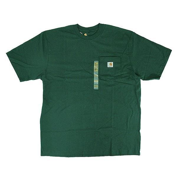 カーハート Carhartt K87 ワークウェア ポケット付きTシャツ 半袖 ミッドウェイト(メール便可) gb-int 12