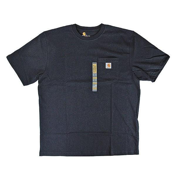 カーハート Carhartt K87 ワークウェア ポケット付きTシャツ 半袖 ミッドウェイト(メール便可) gb-int 13