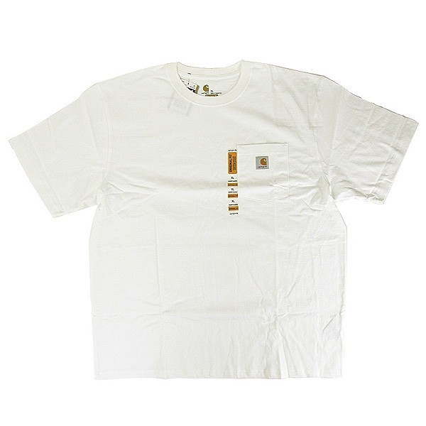 カーハート Carhartt K87 ワークウェア ポケット付きTシャツ 半袖 ミッドウェイト(メール便可) gb-int 15