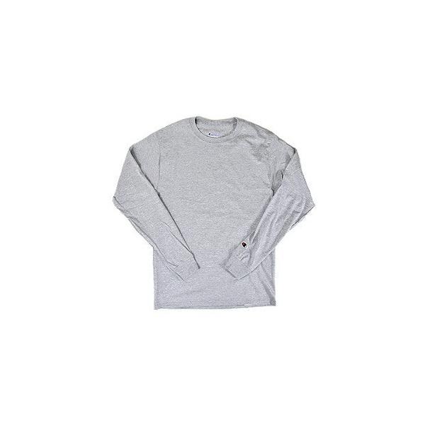 チャンピオン Champion Tシャツ CC8C クルーネック 無地 長袖 USAモデル 5.2 oz Long Sleeve Tee (メール便対応)|gb-int|05