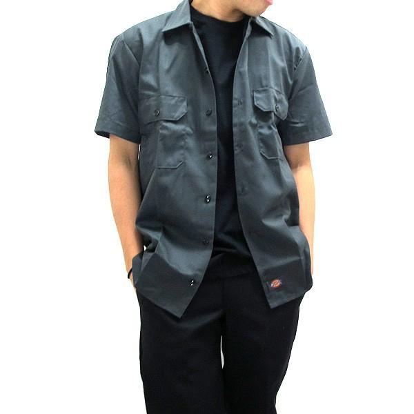 ディッキーズ ワークシャツ 半袖 USAモデル 1574 Dickies  カジュアルシャツ|gb-int|09