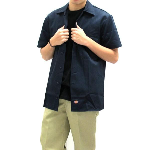 ディッキーズ ワークシャツ 半袖 USAモデル 1574 Dickies  カジュアルシャツ|gb-int|08
