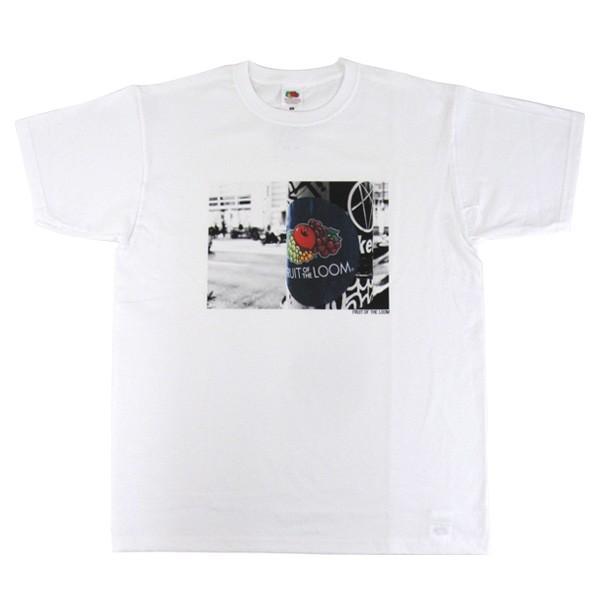 メール便送料無料 FRUIT OF THE LOOM フルーツオブザルーム 0122-513FLPH フォト プリント 半袖 Tシャツ gb-int 06