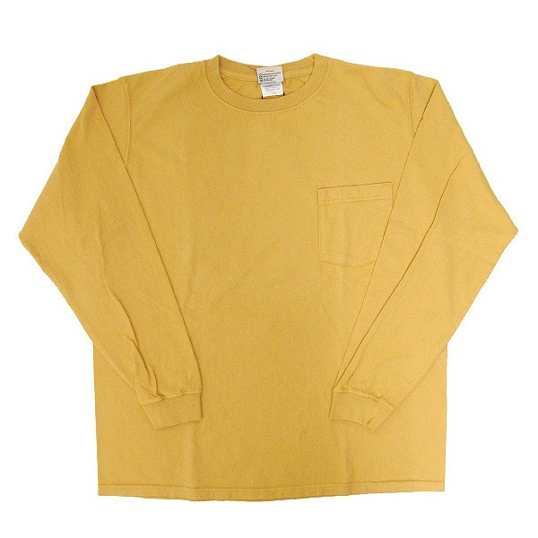 GOODWEAR グッドウェア 長袖 ポケット付きTシャツ 無地(メール便不可)|gb-int|15