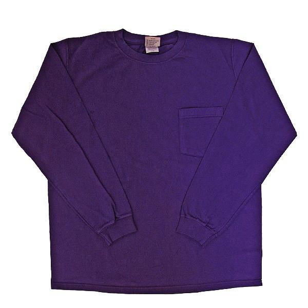 GOODWEAR グッドウェア 長袖 ポケット付きTシャツ 無地(メール便不可)|gb-int|16