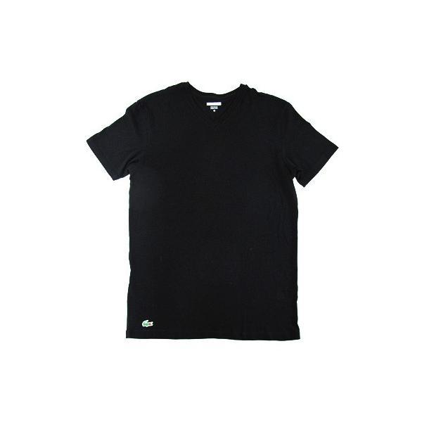 ラコステ LACOSTE 半袖 Tシャツ ワンポイント Vネック メンズ 男性用 (メール便対応可)|gb-int|10