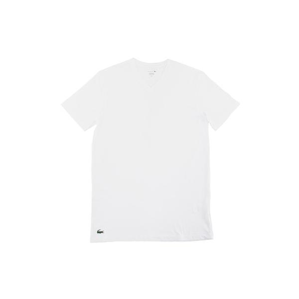 ラコステ LACOSTE 半袖 Tシャツ ワンポイント Vネック メンズ 男性用 (メール便対応可)|gb-int|09