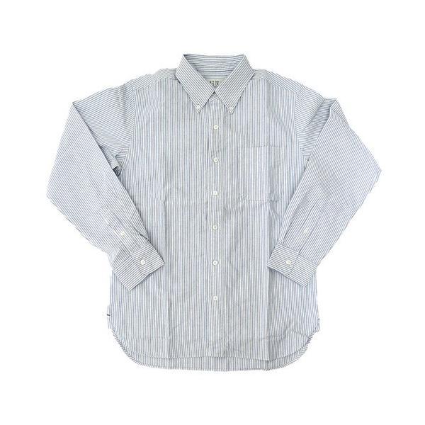 ソンタク シャツ メンズ オックスフォード 長袖ボタンダウンシャツ HD99293|gb-int|09