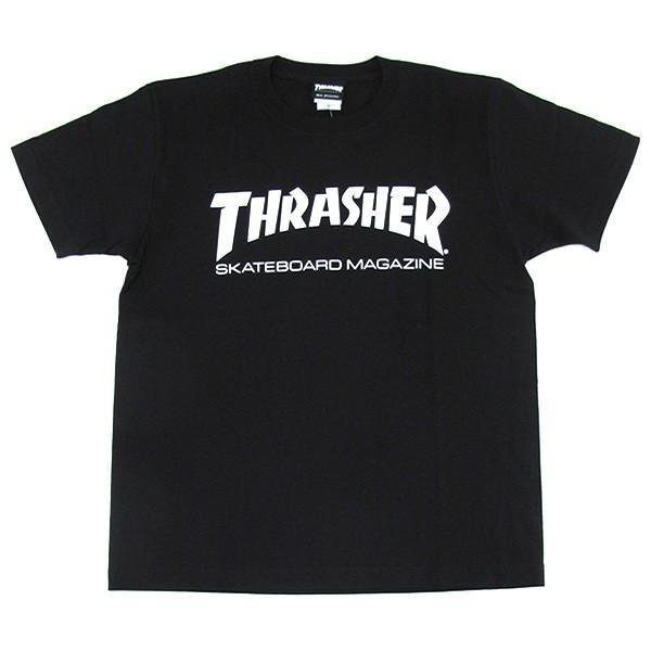 1点までメール便送料無料 THRASHER スラッシャー 半袖 マグロゴ Tシャツ メンズ TH8101-F TH8101|gb-int|13