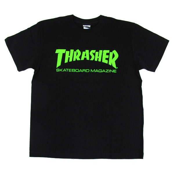 1点までメール便送料無料 THRASHER スラッシャー 半袖 マグロゴ Tシャツ メンズ TH8101-F TH8101|gb-int|10