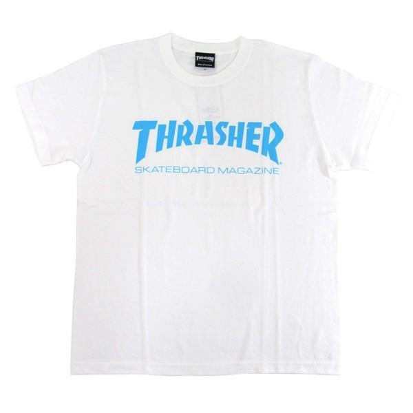 1点までメール便送料無料 THRASHER スラッシャー 半袖 マグロゴ Tシャツ メンズ TH8101-F TH8101|gb-int|09