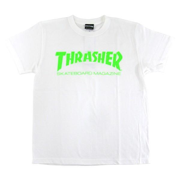 1点までメール便送料無料 THRASHER スラッシャー 半袖 マグロゴ Tシャツ メンズ TH8101-F TH8101|gb-int|08