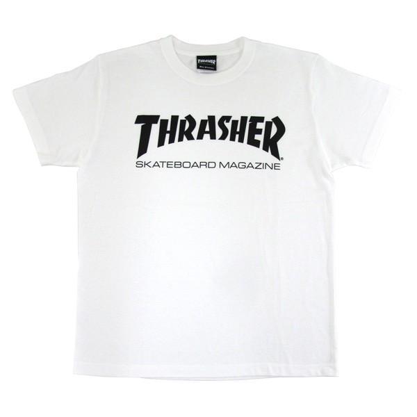 1点までメール便送料無料 THRASHER スラッシャー 半袖 マグロゴ Tシャツ メンズ TH8101-F TH8101|gb-int|12