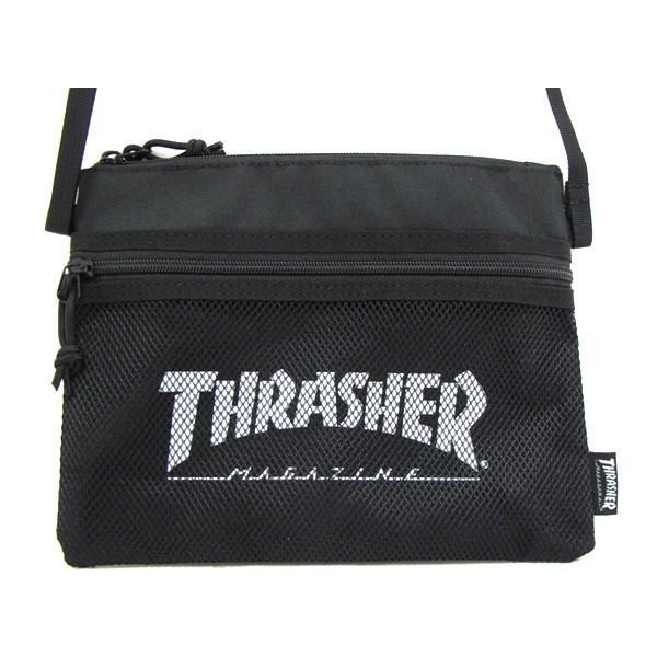 1点までメール便送料無料 スラッシャー THRASHER バッグ サコッシュ サコッシュバッグ ショルダーバッグ ミニ THRSG114|gb-int|04