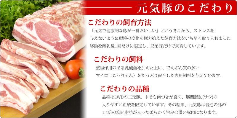 元気豚 美味しさの秘密 生産者の顔が見える「安心・安全」な豚だから美味しい