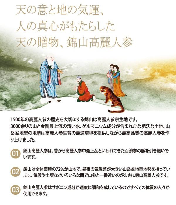 高麗人参の宗主地・錦山の歴史
