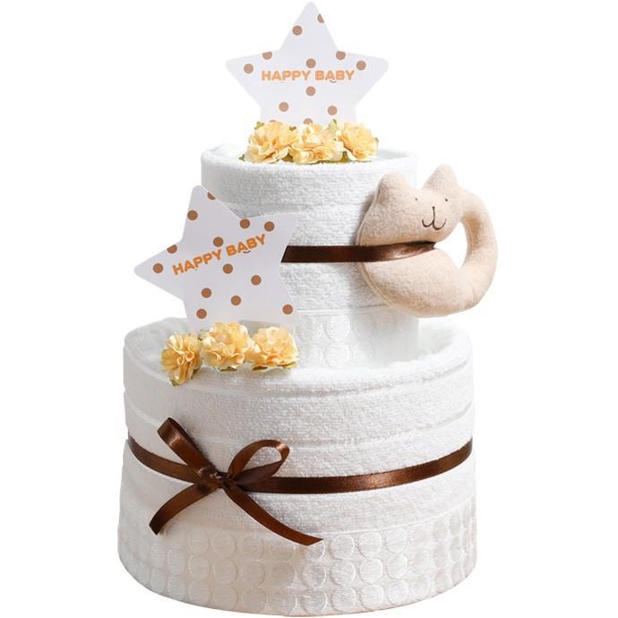 おむつケーキ オムツケーキ 出産祝い 今治タオル オーガニックコットン 名前入り おむつケーキ 日本製|gift-one|18