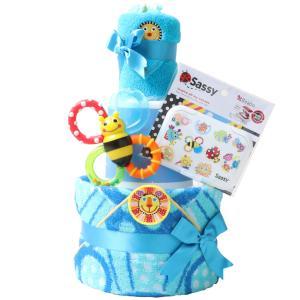 出産祝い 身長計付きバスタオル オムツケーキ カタログギフト Erande にこにこ Sassy 歯固め 3段 おむつケーキ メリーズ ムーニー パンパース GOON|gift-one|19
