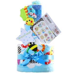 出産祝い 身長計付きバスタオル オムツケーキ カタログギフト Erande にこにこ Sassy 歯固め 3段 おむつケーキ メリーズ ムーニー パンパース GOON|gift-one|23