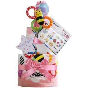 出産祝い 身長計付きバスタオル オムツケーキ カタログギフト Erande にこにこ Sassy 歯固め 3段 おむつケーキ メリーズ ムーニー パンパース GOON|gift-one|22