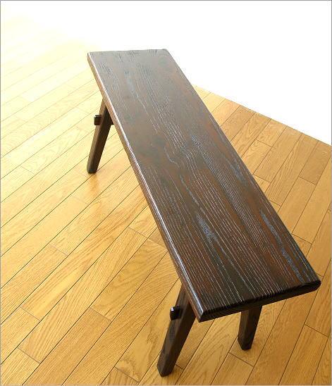ベンチ 木製 90(6)