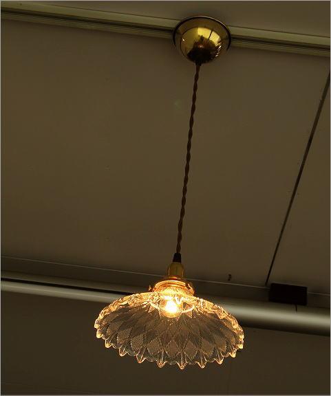 アンティーク風ランプシェード ペンダントランプ1019(7)