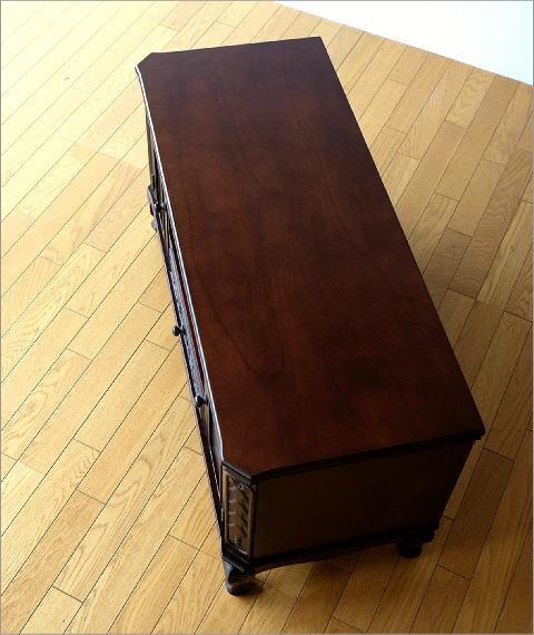 テレビ台 家具 アンティークなローボード(6)