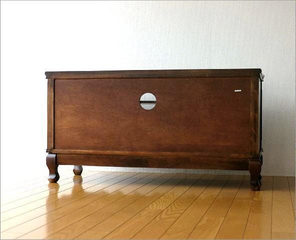 テレビ台 家具 アンティークなローボード(7)