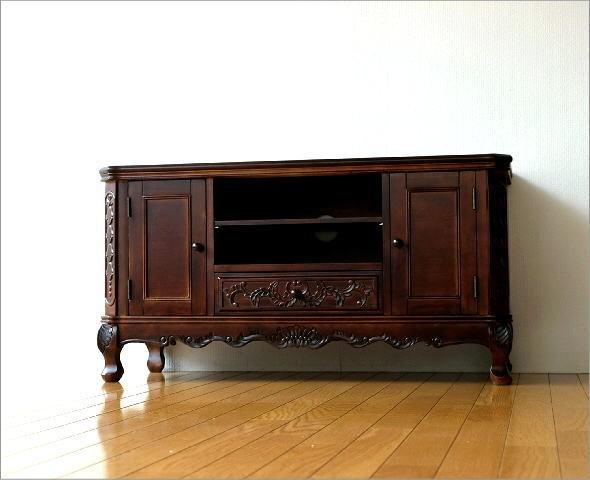 テレビ台 家具 アンティークなローボード(8)