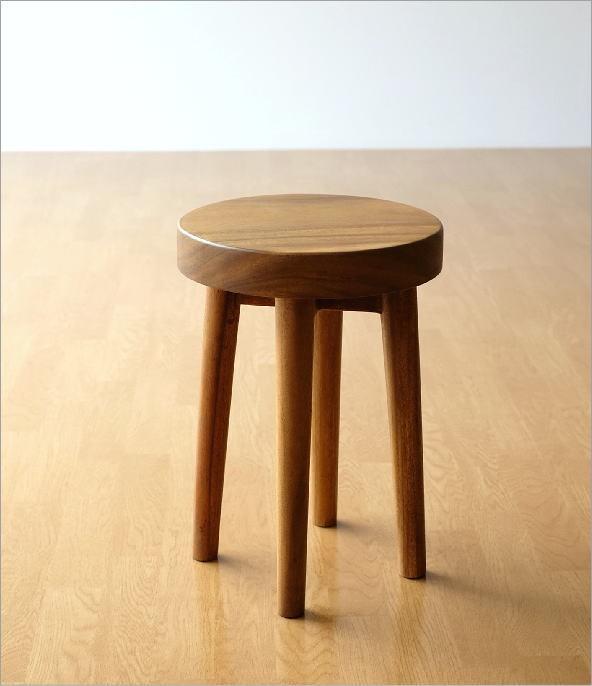 木製スツール ウッドスツール サークル(9)