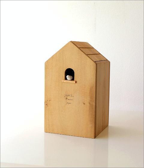 ウッドバードハウスのゴミ箱(6)