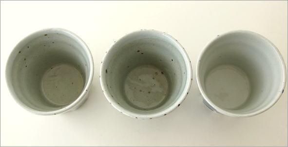 素朴なフリーカップ3個セット(7)