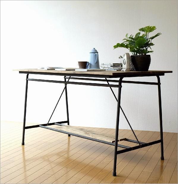 シャビーシックなワークテーブル&デスク B(6)