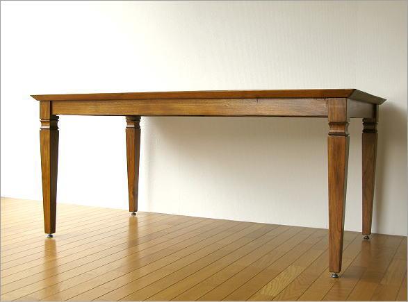 チークダイニングテーブル160(6)