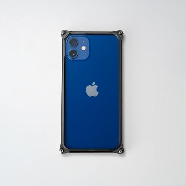 ギルドデザイン iPhone 12 mini バンパー GILDdesign 耐衝撃 アルミ ケース 高級 日本製 iPhone12mini アイフォン12mini gilddesign 21
