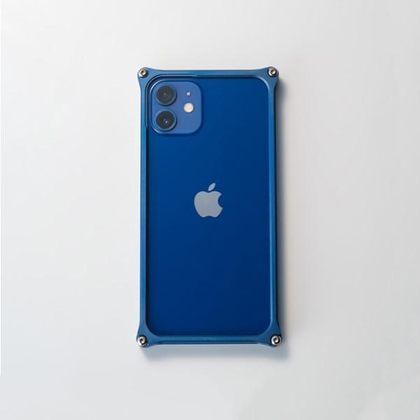 ギルドデザイン iPhone 12 mini バンパー GILDdesign 耐衝撃 アルミ ケース 高級 日本製 iPhone12mini アイフォン12mini gilddesign 23