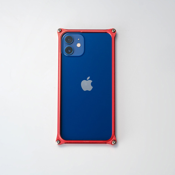ギルドデザイン iPhone 12 mini バンパー GILDdesign 耐衝撃 アルミ ケース 高級 日本製 iPhone12mini アイフォン12mini gilddesign 22