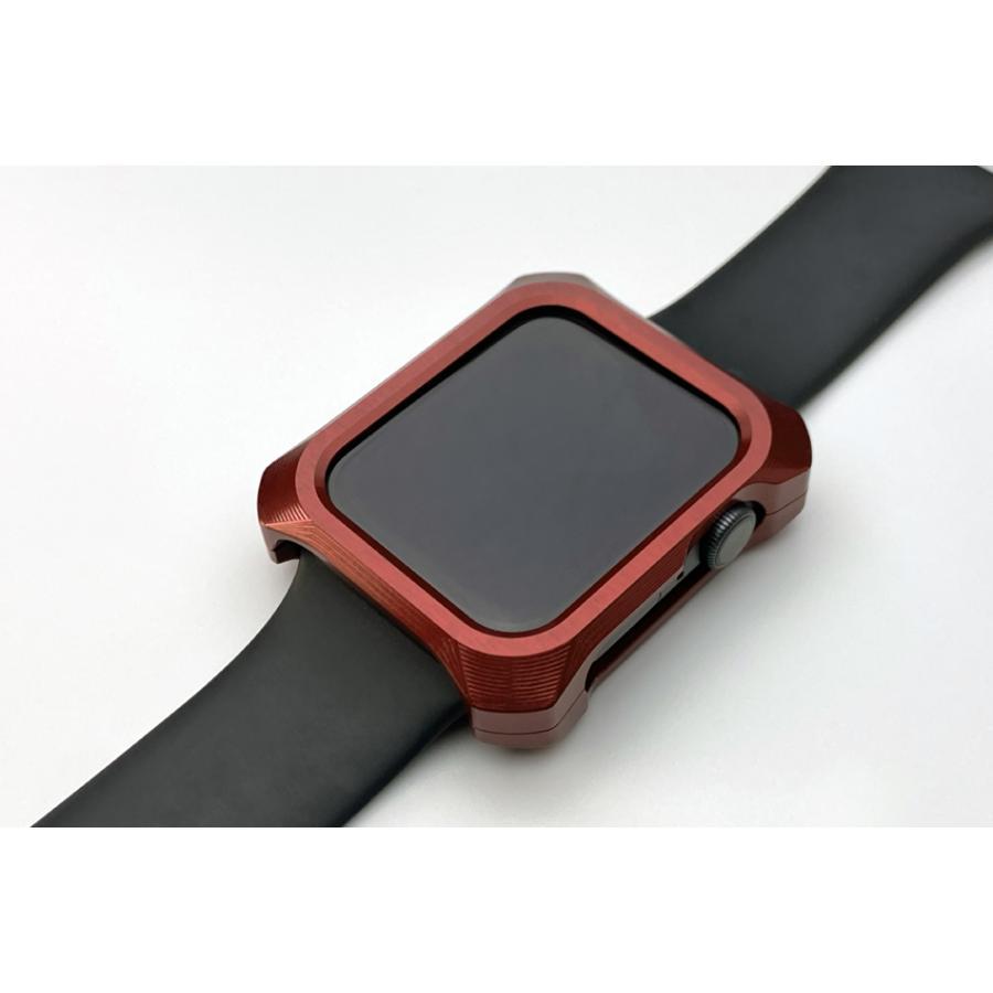 Apple Watch 6 SE カバー ケース 44mm ギルドデザイン アップルウォッチ series6 series5 series4 SE シリーズ GILD design 日本製 アルミ 耐衝撃 gilddesign 15