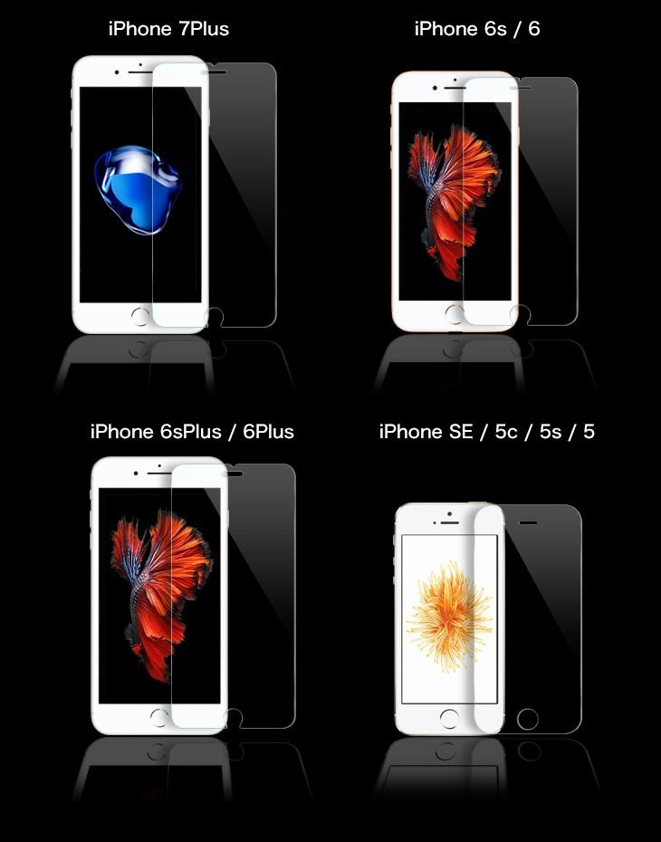 強化ガラスフィルム iPhone6 iPhone6s Plus SE