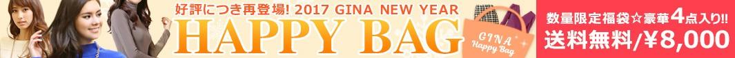 ≪.*期間&数量限定*.≫2017 NEW YEAR HAPPY BAG / GINA レディース服 福袋【送料無料】