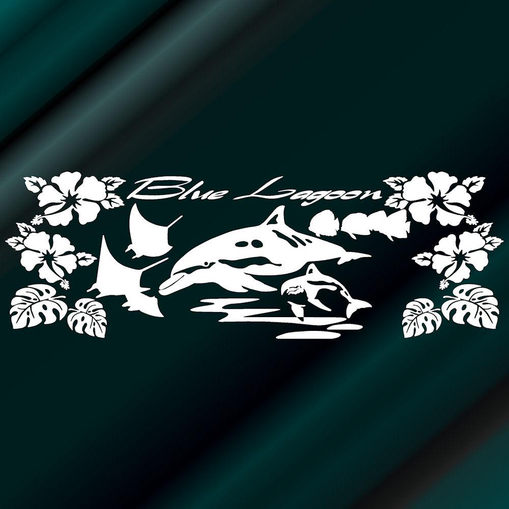 シーパラハワイアンステッカー