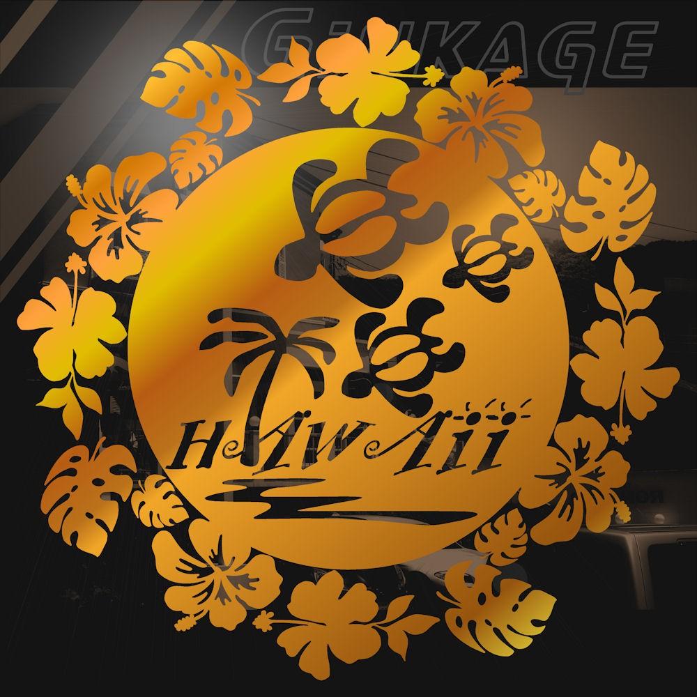 ハワイアン花のリング