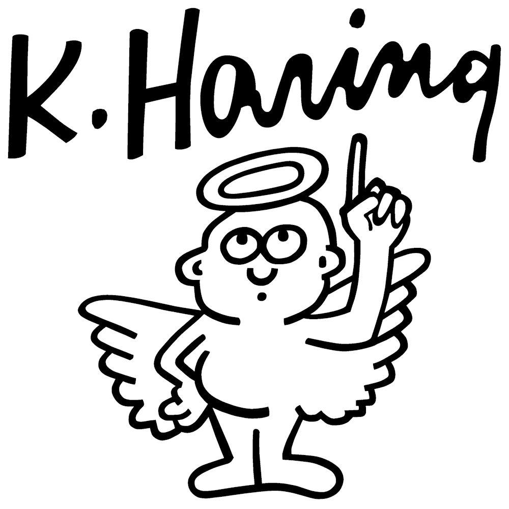 キース・ヘリングステッカー