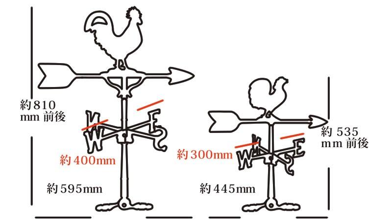 風見鶏イラスト