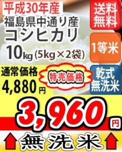 中コシ無洗米10