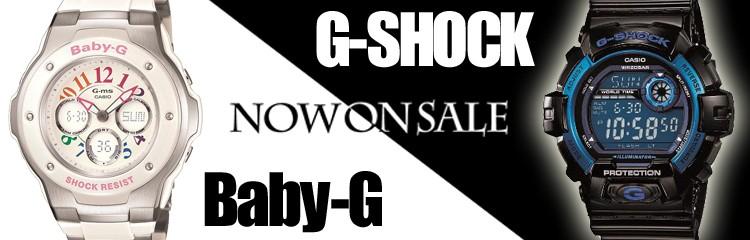 カシオ腕時計 G-SHOCK,Baby-Gカテゴリページ