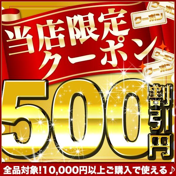 店内全商品対象!10000円以上お買上げで500円OFF!