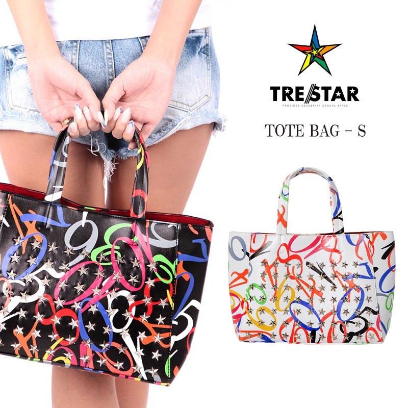 TRE☆STAR トレスター クレイジーナンバートートバッグ Sサイズ